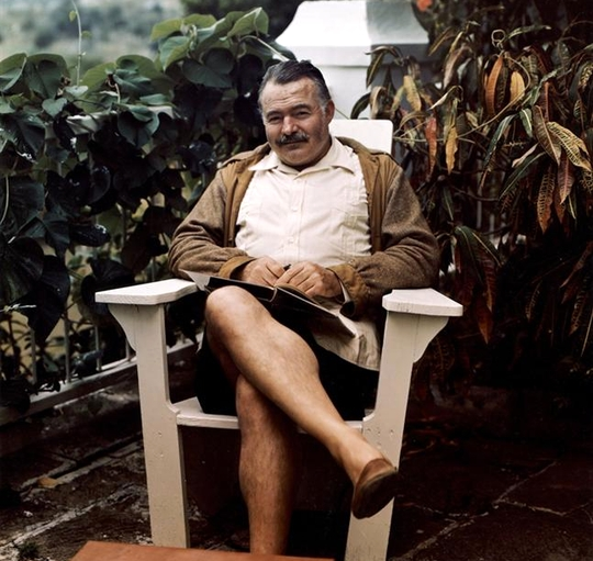 writing style of ernest hemingway