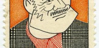 Ernest Hemingway Postage Stamp