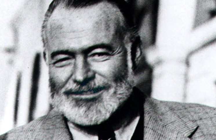 an essay on the inspirations of the author ernest hemingway Persuasive essay on ernest hemingway hemingway got his inspiration from his life experiences, and his relationship with women was no exception he was married four times in his life one such writer is the nobel prize winning author gabriel marquez.