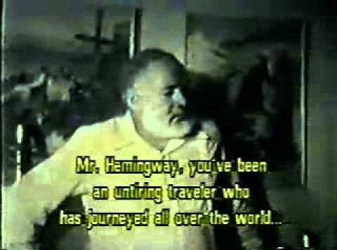 hemingway interview Npr coverage of ernest hemingway: news, author interviews, critics' picks and more.